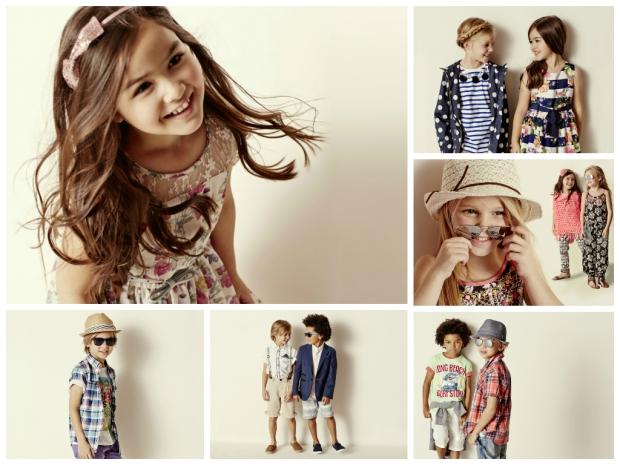 Matalan Kidswear SS15 collage