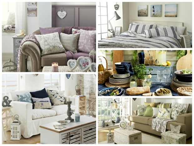 Matalan SS15 homeware collage