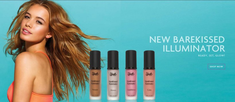 Advertising banner via: http://www.sleekmakeup.com/